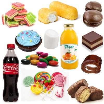 ¿Cómo no tentarse con los dulces?