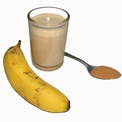 Beneficios del licuado de chocolate con plátano