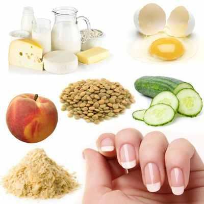 Alimentos favorables para las uñas
