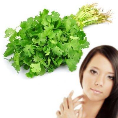 Mascarilla de cilantro para la cara