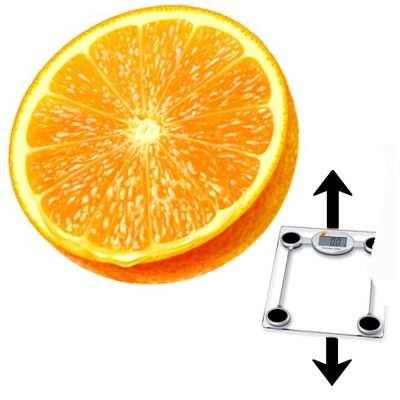 ¿Si o no? Engorda la naranja