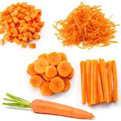 Las zanahorias crudas no engordan