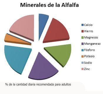 Valor nutricional de la alfalfa