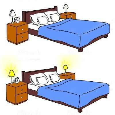 ¿Dormir con la luz prendida hace mal?