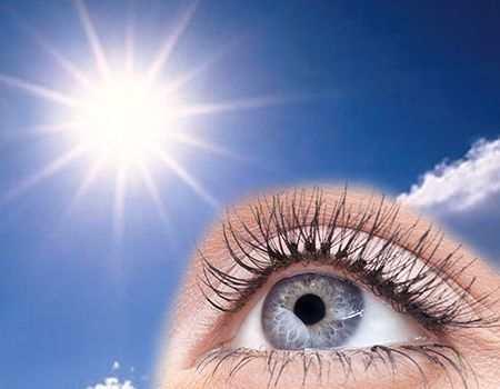 Daños de los rayos uv en los ojos