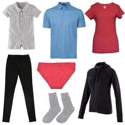Ejemplos de ropa hecha de algodón ¿qué ropa está hecha de algodón?