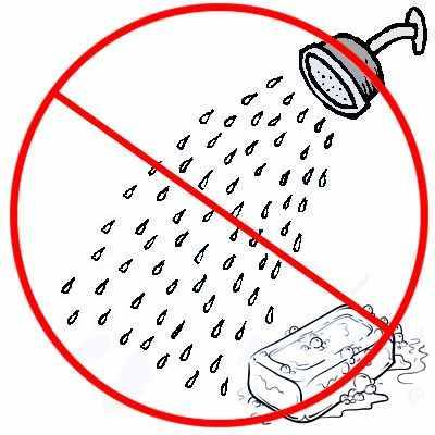 ¿Qué ocasiona no bañarse?